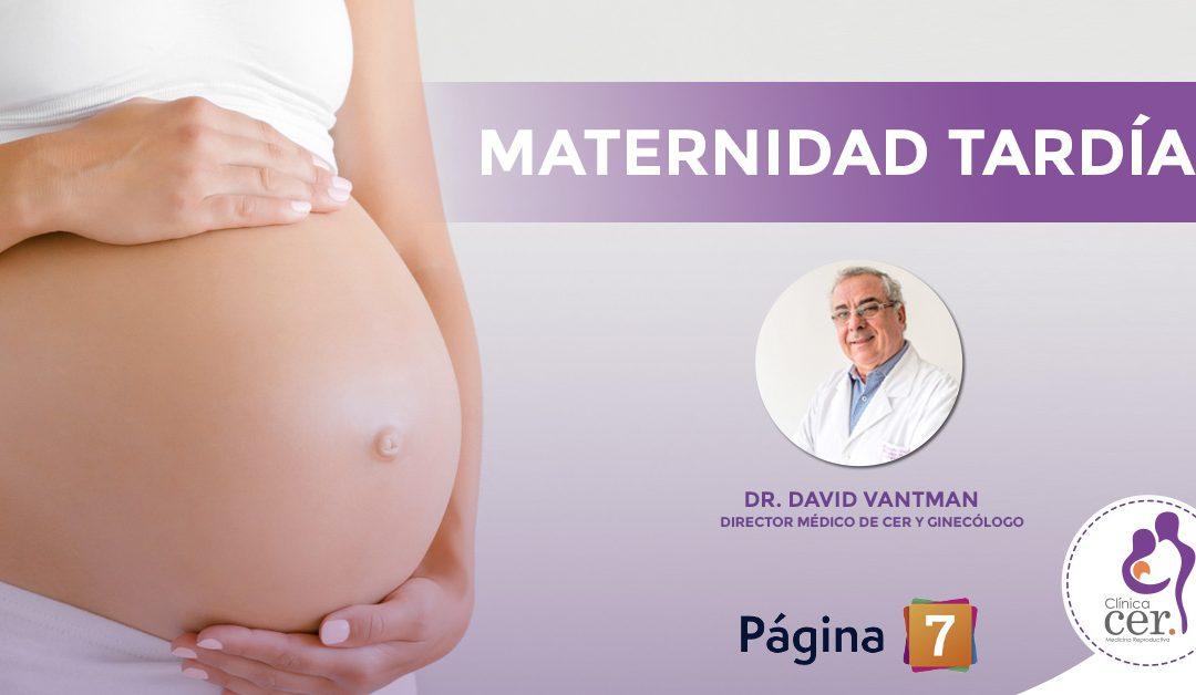 Postergar la maternidad reduce las posibilidades de embarazo