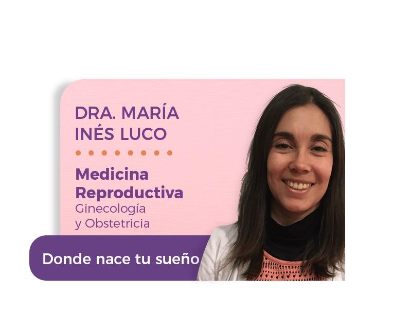 Dra. María Inés Luco Montero.